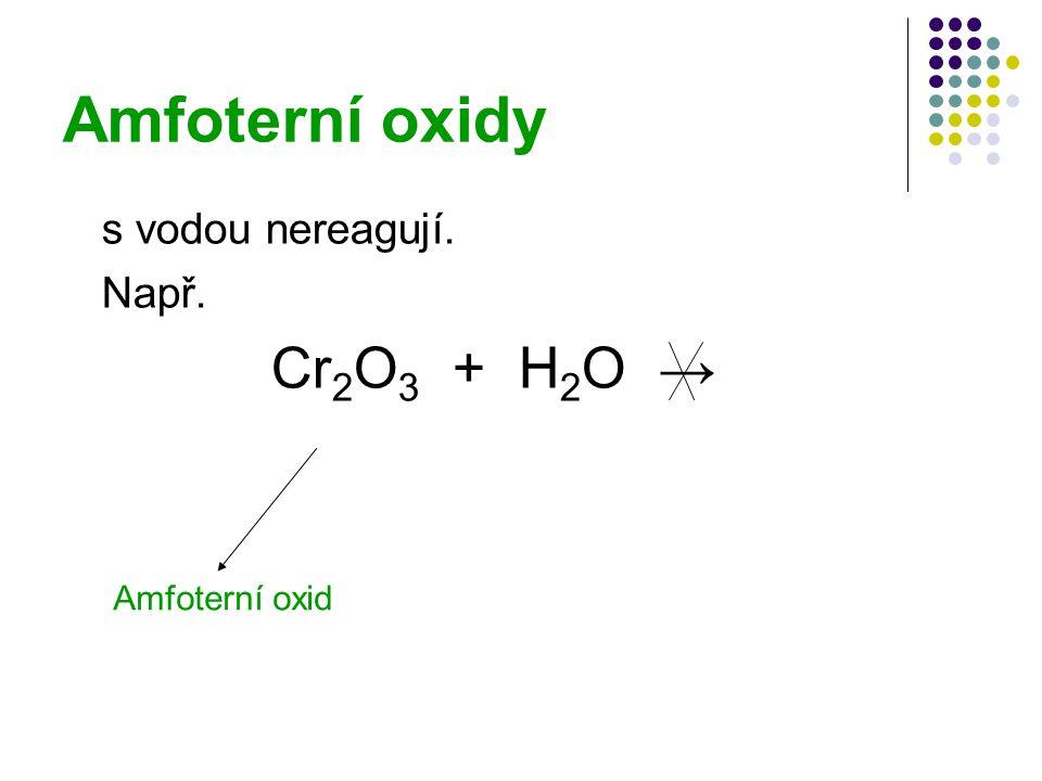 Jak rozeznat oxidy.Určit, do které skupiny oxid náleží, lze i bez pokusu.