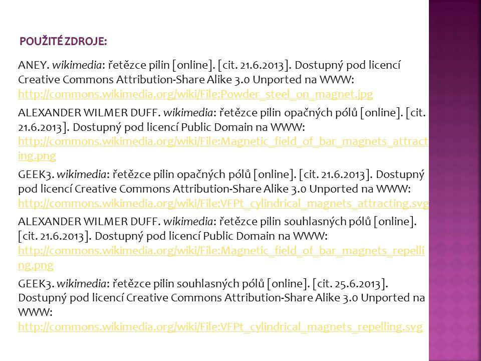 ANEY. wikimedia: řetězce pilin [online]. [cit. 21.6.2013]. Dostupný pod licencí Creative Commons Attribution-Share Alike 3.0 Unported na WWW: http://c