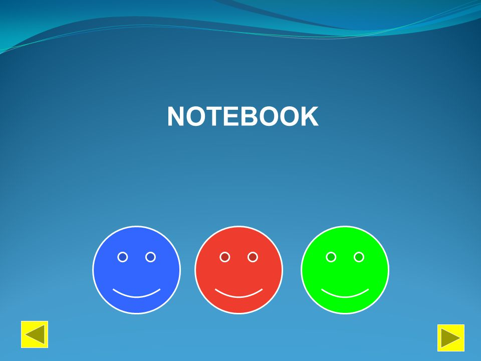 PERFORM PAINT DESCRIBE NOTEBOOK