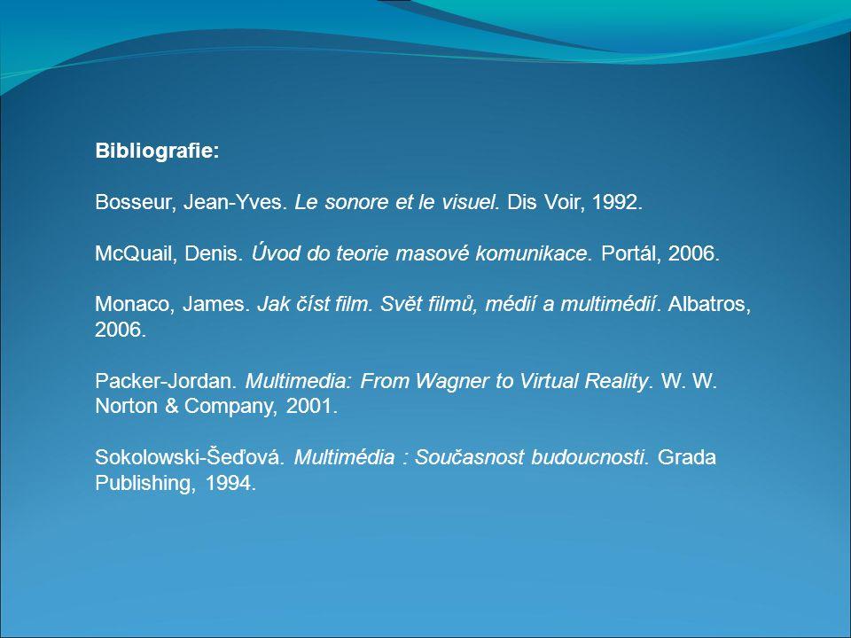 Bibliografie: Bosseur, Jean-Yves. Le sonore et le visuel.
