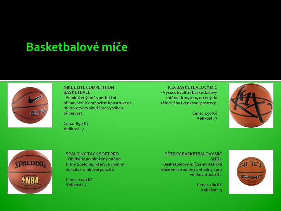 NIKE ELITE COMPETITION BASKETBALL · Polokožený míč s perfektní přilnavostí.