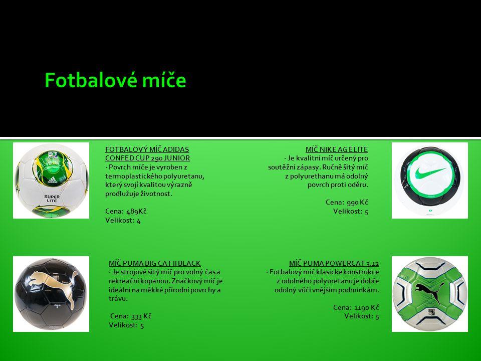 FOTBALOVÝ MÍČ ADIDAS CONFED CUP 290 JUNIOR · Povrch míče je vyroben z termoplastického polyuretanu, který svojí kvalitou výrazně prodlužuje životnost.