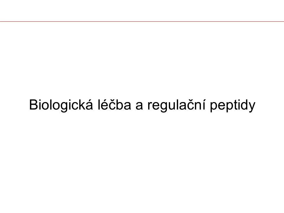 Biologická léčba a regulační peptidy