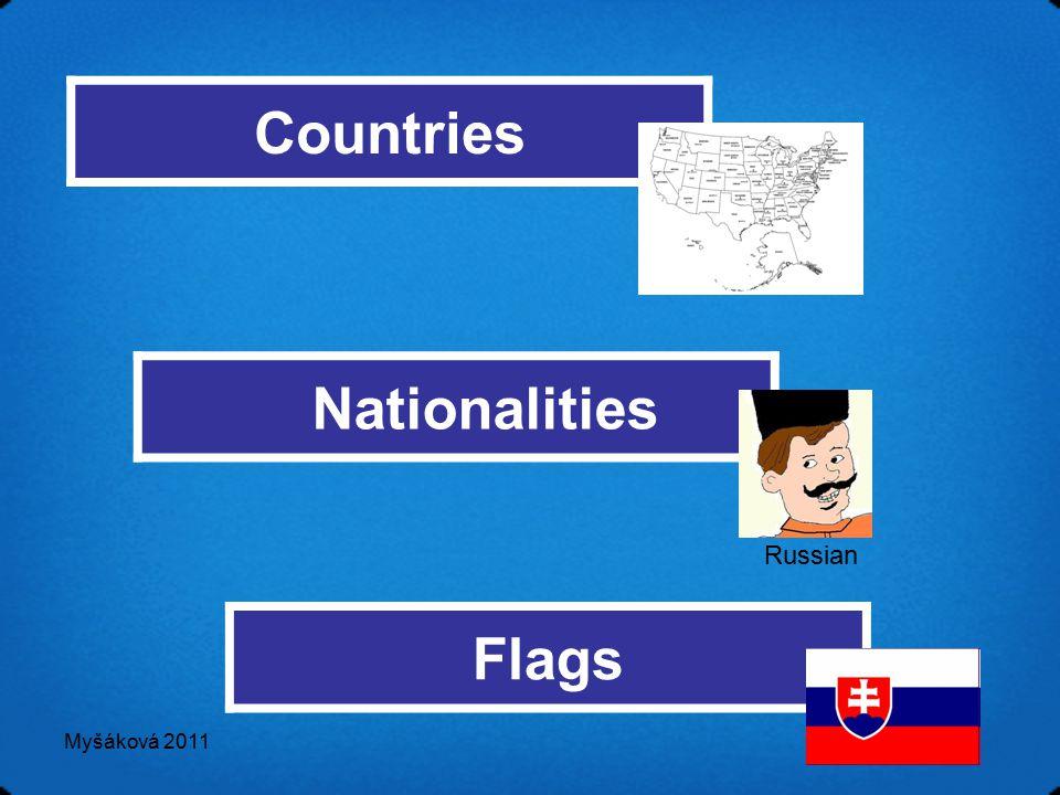 Myšáková 2011 Nationalities Flags Countries Russian