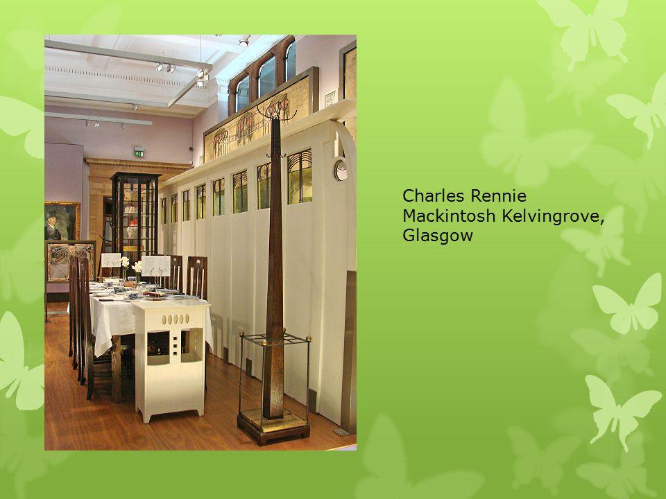 Charles Rennie Mackintosh Kelvingrove, Glasgow