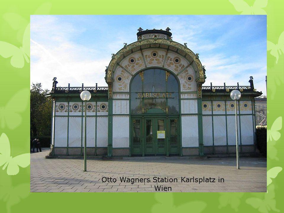 Otto Wagners Station Karlsplatz in Wien