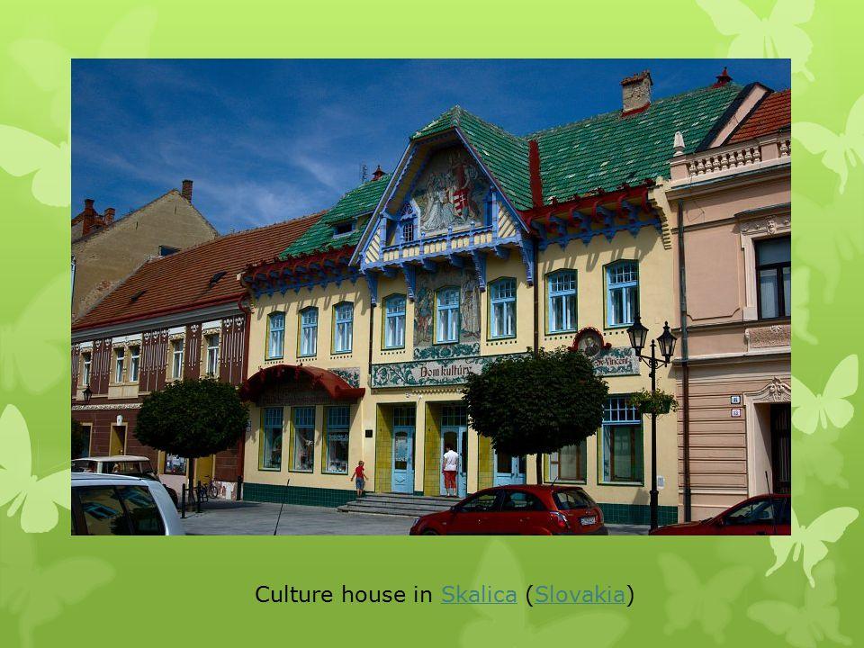 Culture house in Skalica (Slovakia)SkalicaSlovakia