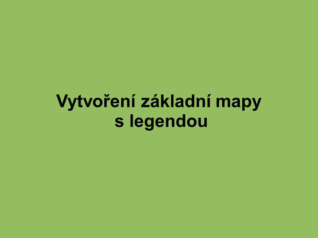 Vytvoření základní mapy s legendou