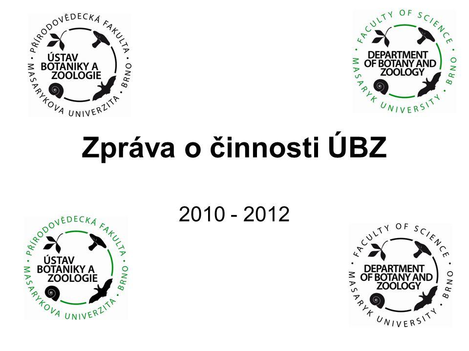 Zpráva o činnosti ÚBZ 2010 - 2012