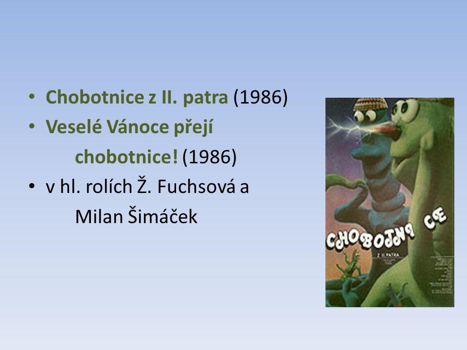 Chobotnice z II. patra (1986) Veselé Vánoce přejí chobotnice.