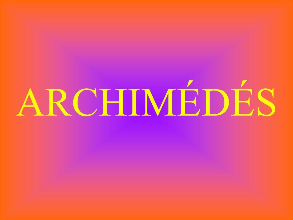 ARCHIMÉDÉS