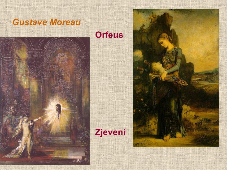 Gustave Moreau Orfeus Zjevení