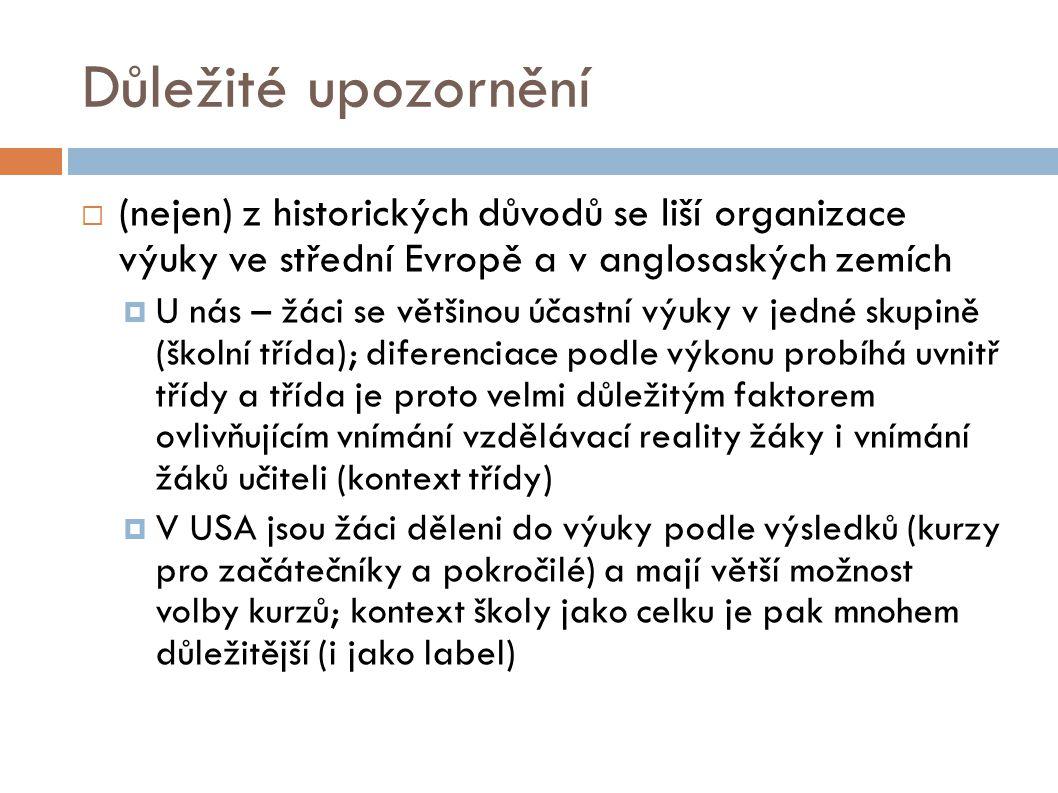 Literatura  Čáp, J., Mareš, J.Psychologie pro učitele.