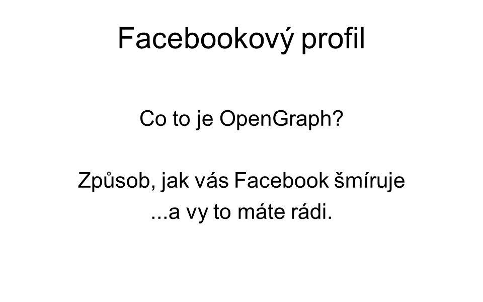 Facebooková pravidla Minimální věk 13 let.Vlastní obličej v profilové fotografii.