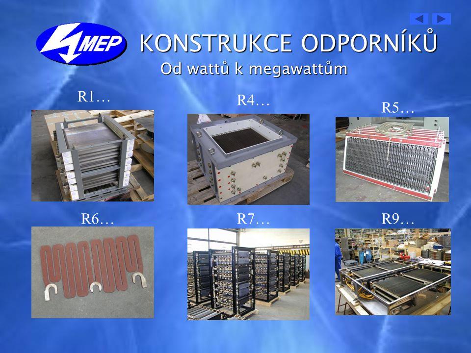 MATERIÁLY AKTIVNÍ ČÁST- NiCr 8020 - NiCr 3718 -NiCr 2520 - CrAl 144 - Konstantán - jiný požadavek zákazníka SKŘÍŇ- feritická korozivzdorná ocel 1.4510 - austenitická korozivzdorná ocel 1.4307 IZOLACE- keramika C410 podle IEC 60672 - slída Cogetherm M nebo P - Micaver - Delmat SG200