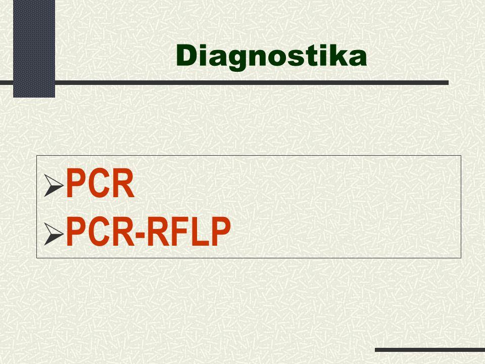 Diagnostika   PCR   PCR-RFLP