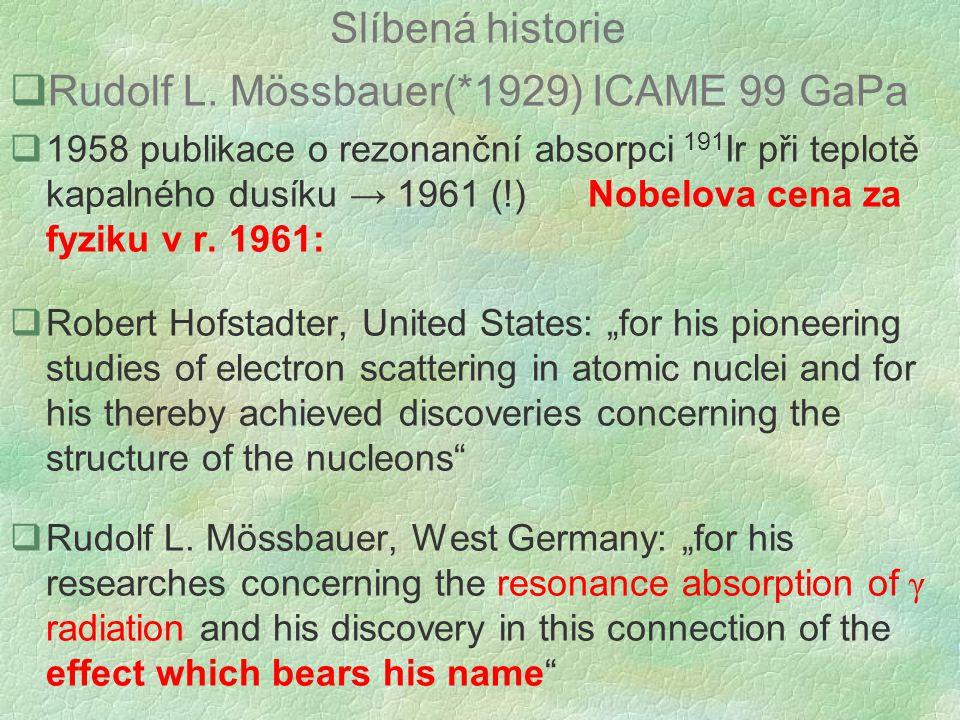 Slíbená historie  Rudolf L.
