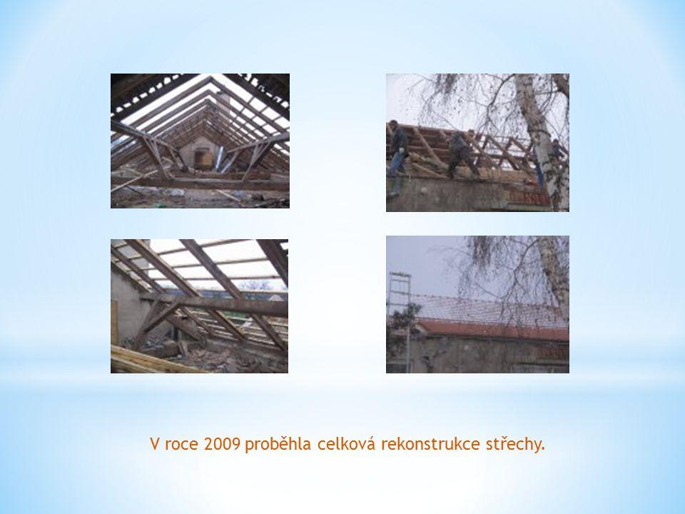 V roce 2009 proběhla celková rekonstrukce střechy.