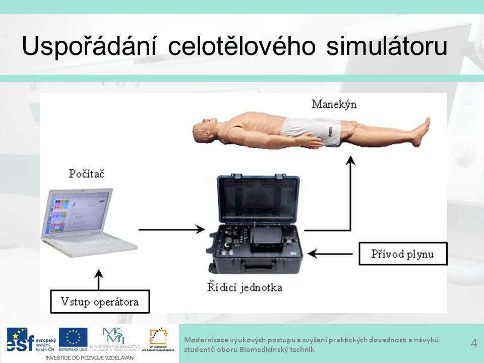 Modernizace výukových postupů a zvýšení praktických dovedností a návyků studentů oboru Biomedicínský technik Práce se simulátorem 5
