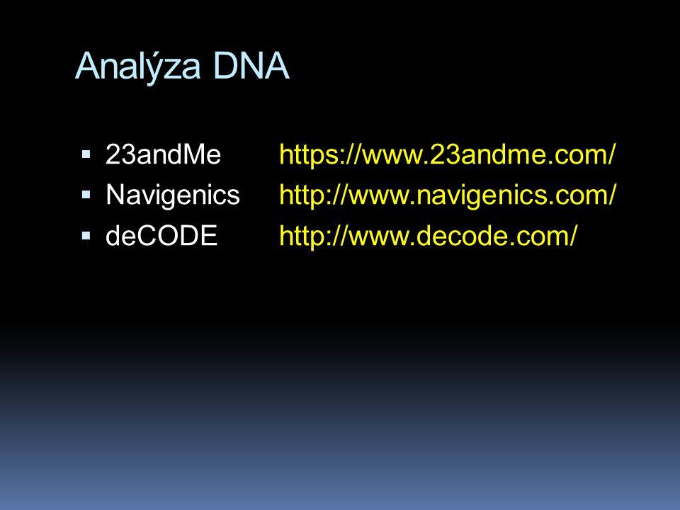 Člověk: periodická tabulka genů.