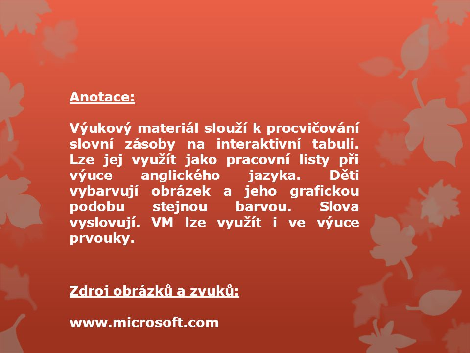 VY_22_INOVACE_59 Jazyk a jazyková komunikace. Anglický jazyk.