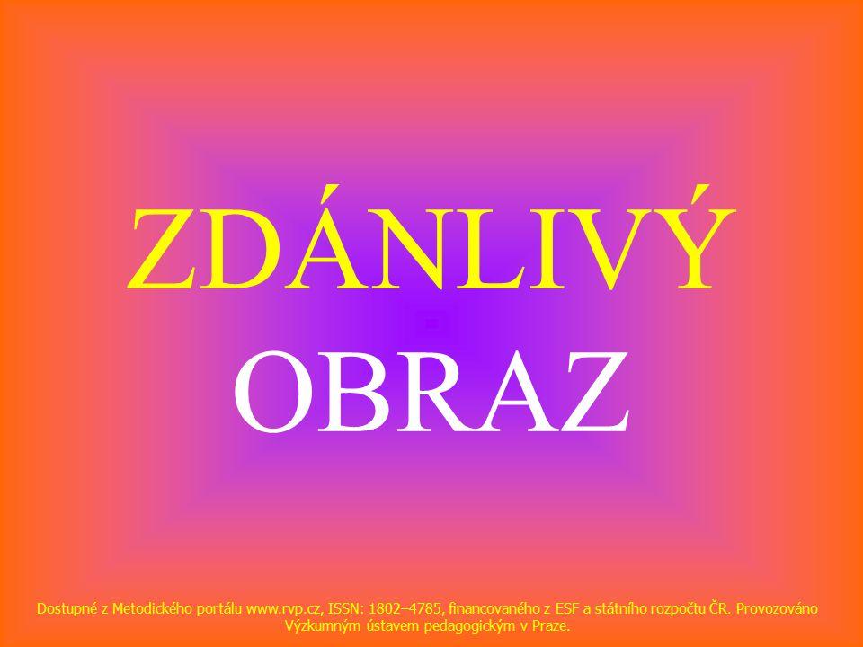 ZDÁNLIVÝ OBRAZ Dostupné z Metodického portálu www.rvp.cz, ISSN: 1802–4785, financovaného z ESF a státního rozpočtu ČR.