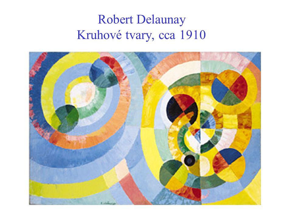 Robert Delaunay Kruhové tvary, cca 1910