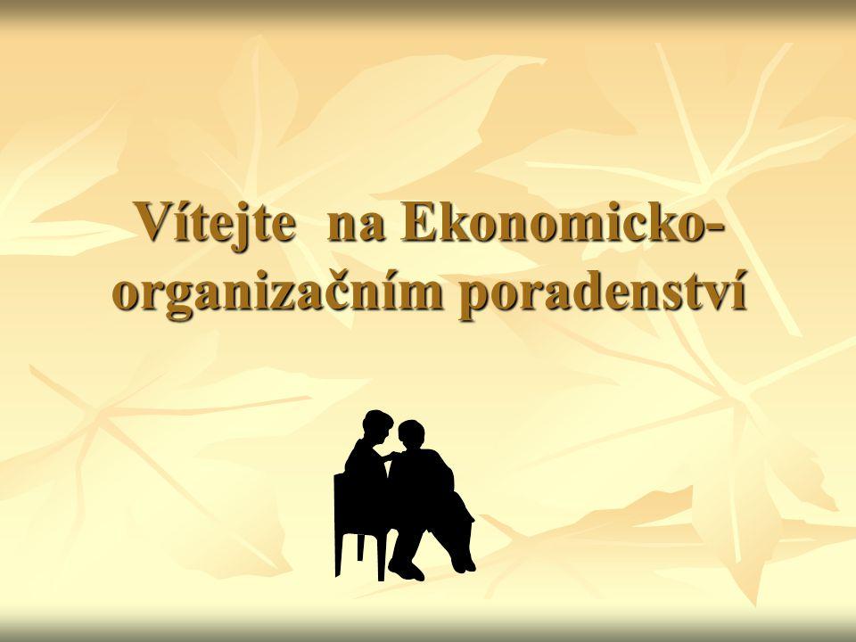 Vítejte na Ekonomicko- organizačním poradenství