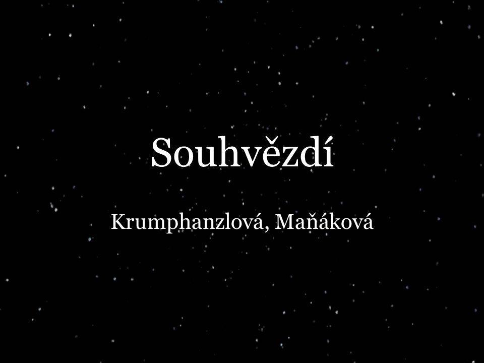 Souhvězdí Krumphanzlová, Maňáková