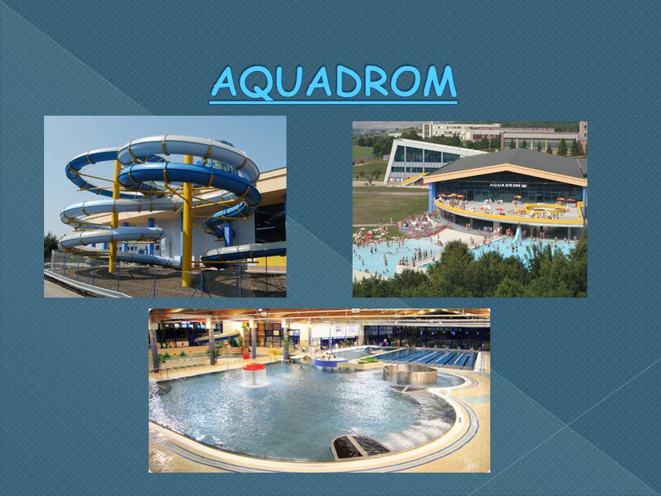  Předchůdce dnešního Aquadromu zahájil činnost v roce 1976.  Modernizací prošel v roce 2003.  Vodní park ležící v blízkosti centra města.  Návštěv
