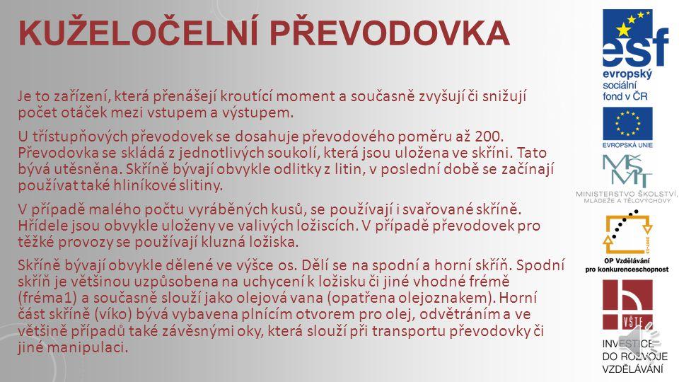 DETAIL PŘEVODU