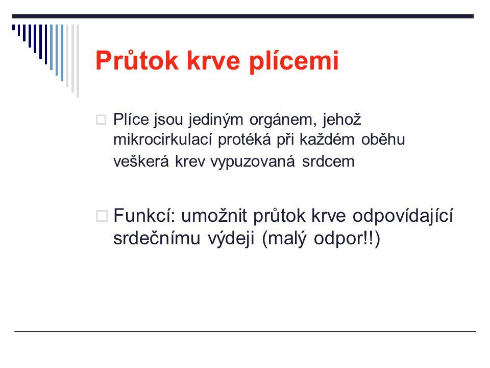 Spirometrie u restrikčních poruch  Statické plicní objemy ↓ reziduální objemy  ↓ RV, ↓ FRC, ↓ TLC  Dynamické ventilační parametry ± ↕ objemy při usilovném výdechu  ↓ FEV1, ± ↑ FEV1/FVC (%), norma 80 %, FVC ↓ průtoky (rychlosti)  ↓ PEF, ↓ MEF 50%, ↓ MEF 75%, ↓ MEF 25%  ±↑ FEF 25-50%