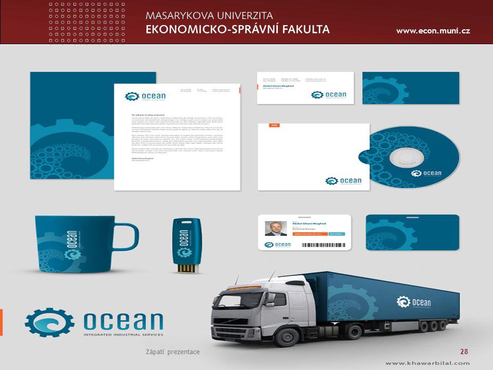www.econ.muni.cz Zápatí prezentace 28
