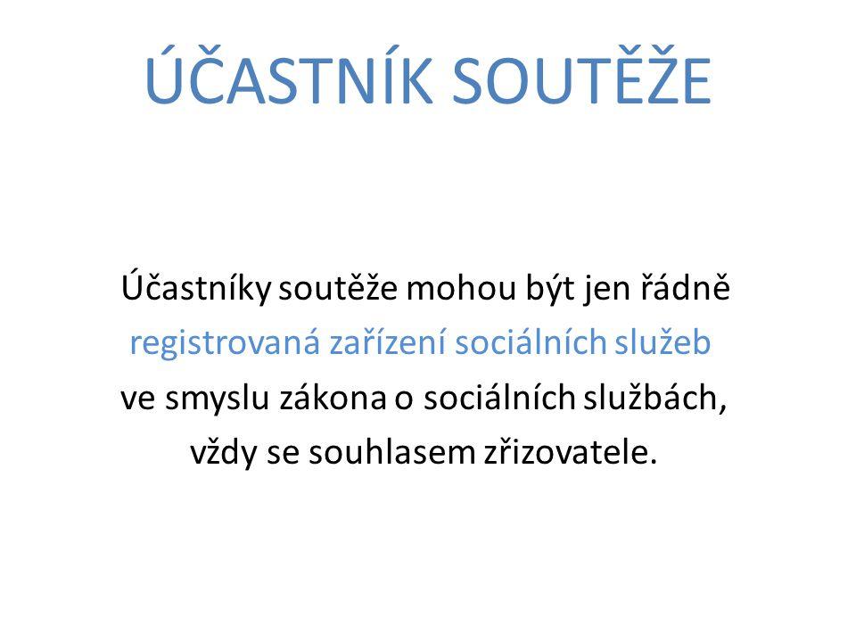 PŘIHLÁŠKA Pro přihlášení do soutěže vyplní uchazeč přihlášku.