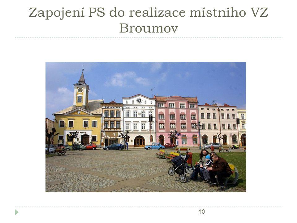 Zapojení PS do realizace místního VZ Broumov 10