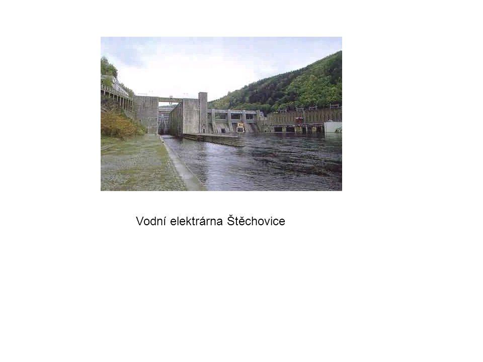 Vodní elektrárna Štěchovice