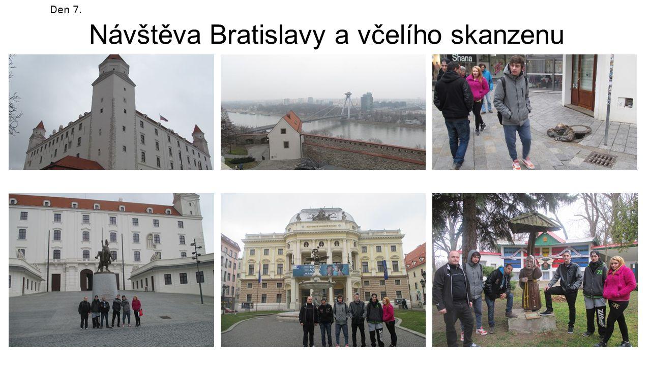 Návštěva Bratislavy a včelího skanzenu Den 7.