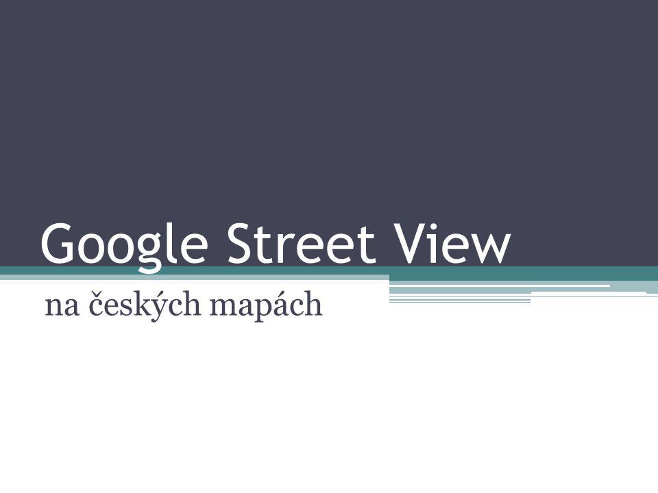 Google Street View na českých mapách