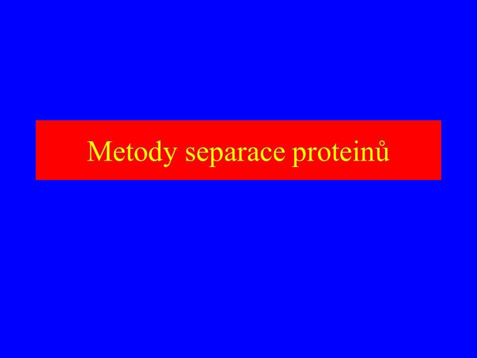 Pořadí volit tak, aby metody na sebe vhodně navazovaly Metody zřeďovací kombinovat s metodami koncentrujícími Metody nepoužívat opakovaně