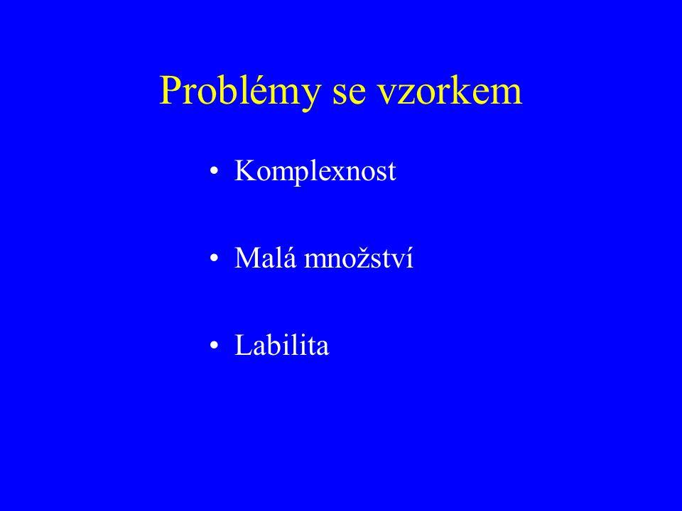 Zásady pro práci s biologickým materiálem 1.Teplota 2.pH + iontová síla 3.Koncentrace bílkoviny 4.Pěnění 5.Lokální přebytky 6.Proteázy