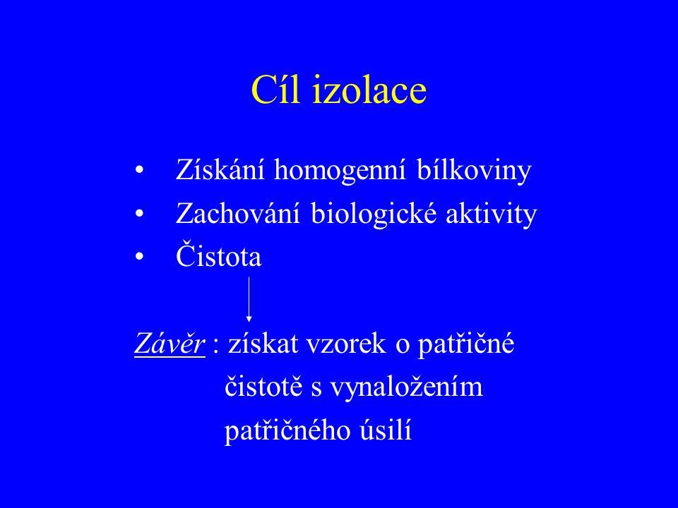 Lysozym + osmotický šok (mírný osmotický šok) Princip – lysozym rozruší buněčnou stěnu, následně je bakteriální suspenze zředěna destilovanou H 2 O – bakterie popraskají