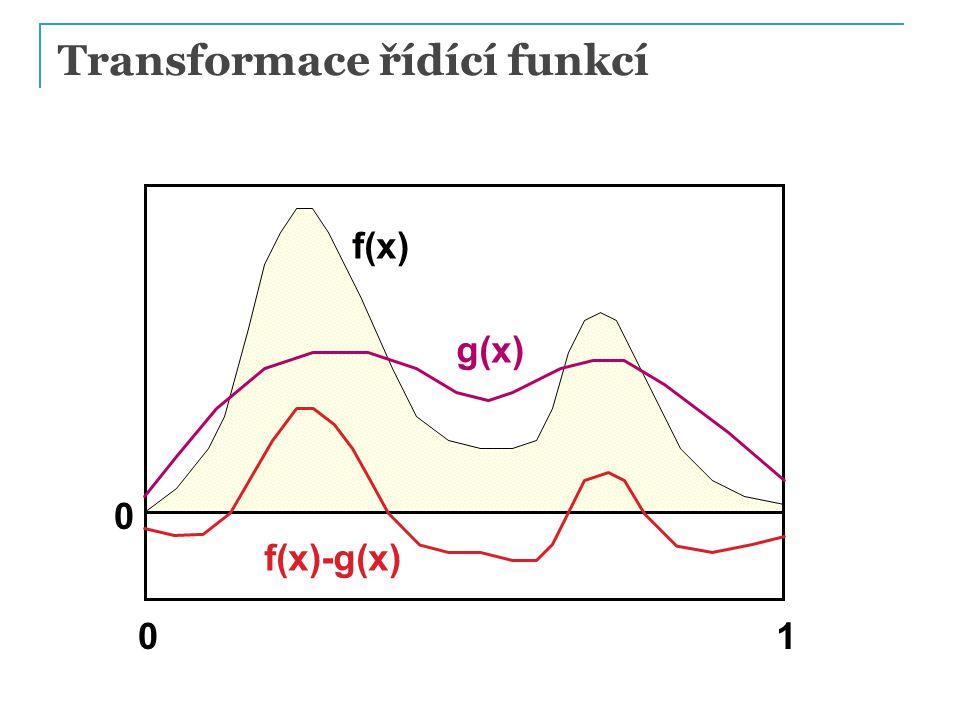 Vzorkování 1D spojité náhodné veličiny zamítací metodou Algoritmus  Vyber náhodné u 1 z R(a, b)  Vyber náhodné a u 2 z R(0, MAX)  Přijmi vzorek, pokud p(u 1 ) < u 2 Přijaté vzorky mají rozložení dané hustotou p(x) Účinnost = % přijatých vzorků  Plocha funkce pod křivkou / plocha obdélníka  Transformační metoda vždy efektivnější (ale vyžaduje integrovat hustotu a invertovat distribuční fci) PG III (NPGR010) - J.
