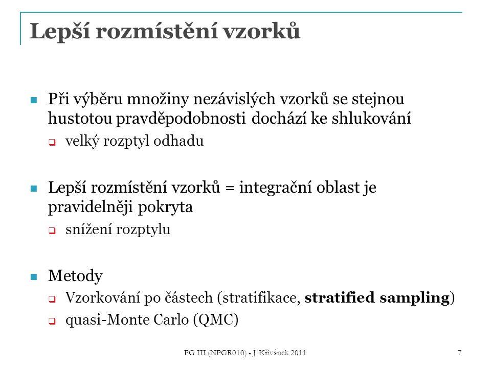 PG III (NPGR010) - J. Křivánek 2011 38