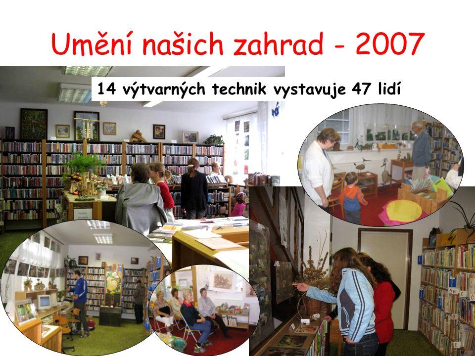 Šité retro kostýmy: Kamila Boudová Pletení z pedigu: Jarmila Heltová Batika, textilní kresba: Kateřina Hladišová Vosková batika, dekotativní technika: