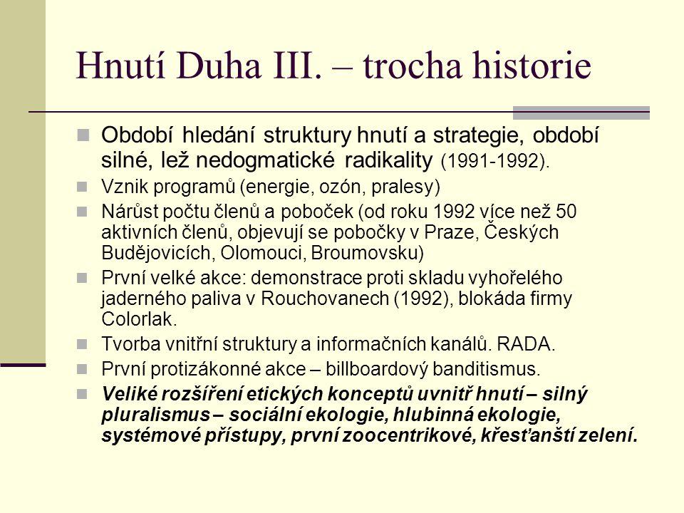 Hnutí Duha III.