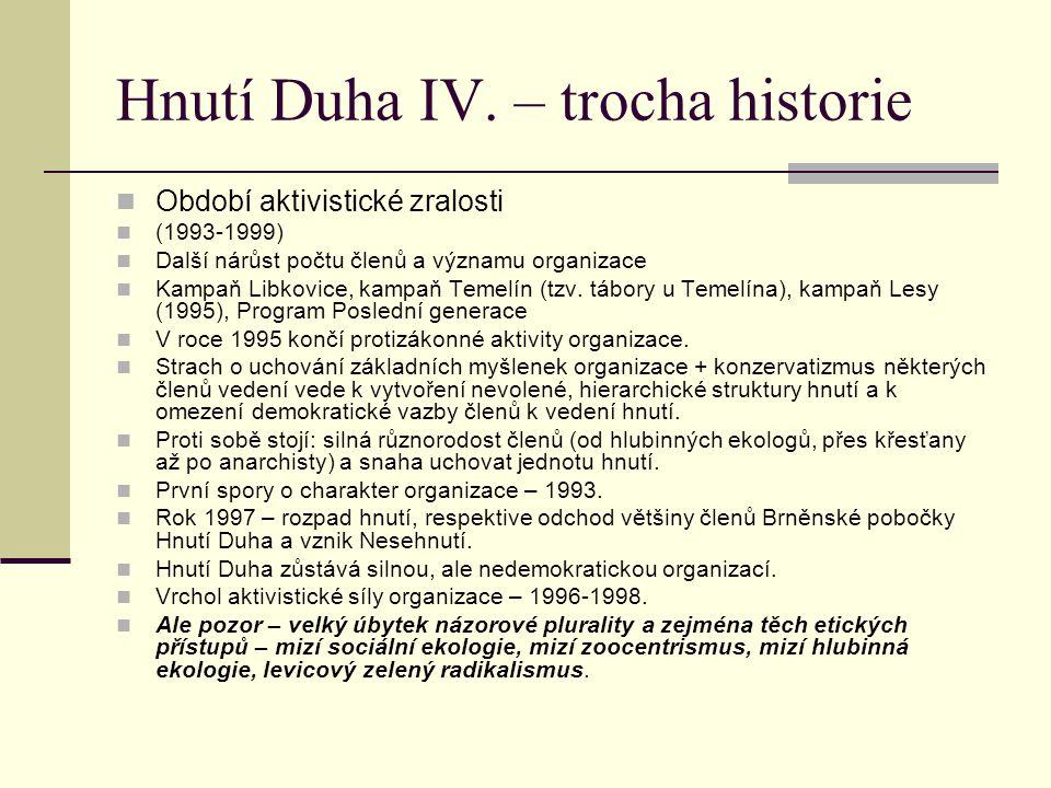 Hnutí Duha IV.