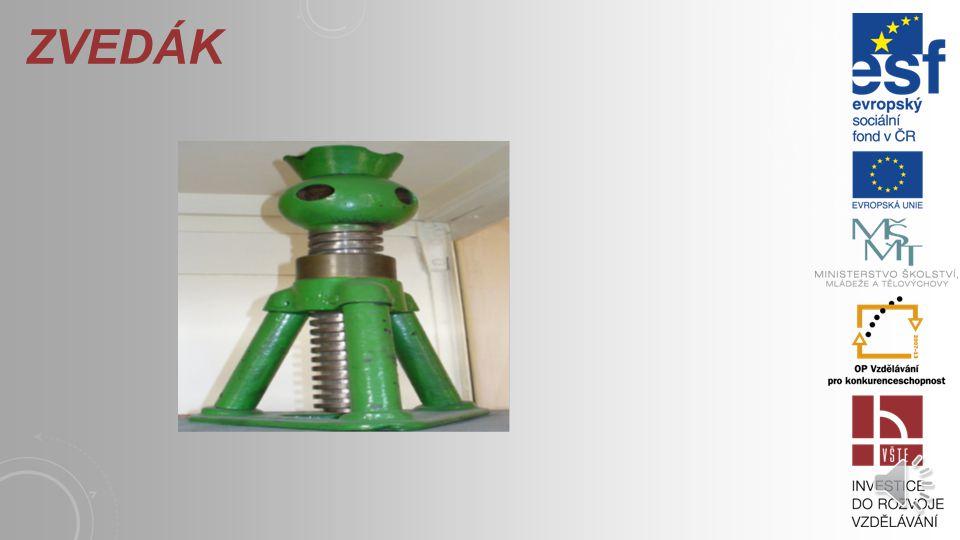 Šroubové mechanizmy se používají zejména tedy na: šroubové zvedáky stahováky šoupátka vodící šrouby soustruhů lineární moduly.
