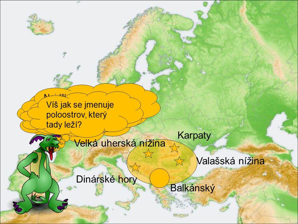 Jihovýchodní Evropu omývají vody dvou moří.Víš jakých.