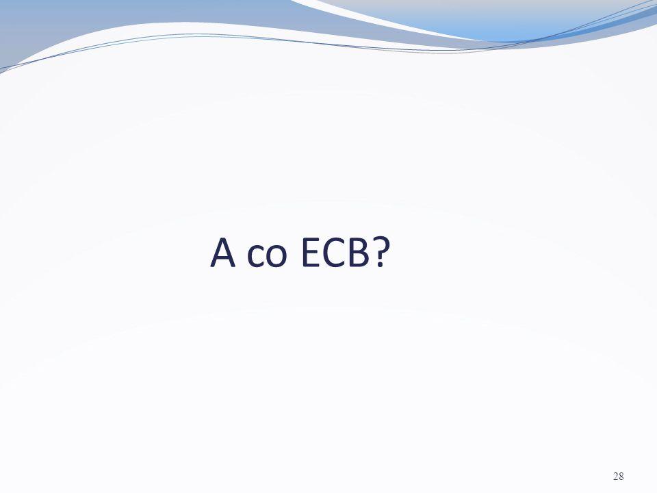 A co ECB? 28