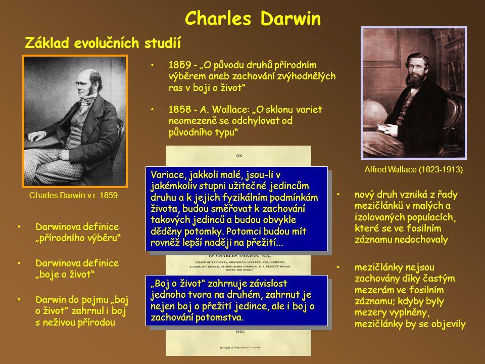 Charles Darwin 1858 - A.